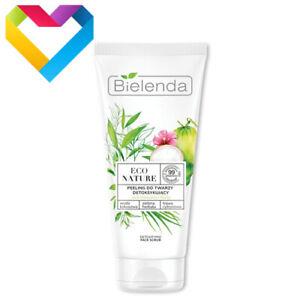 Bielenda Eco Nature DETOXIFYING FACE SCRUB For Combination and Oily Skin 150g