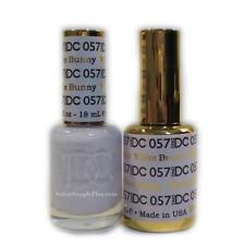 DND DC GEL - DUO SET (GEL + MATCHING LACQUER) - 57 WHITE BUNNY