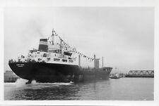 Cargo PORT ANNA seen in Le Havre 1971 écluse François 1er