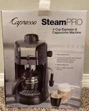 Capresso Steam Pro Espresso & Cappuccino Machine 4 Cup Glass Carafe Model 304