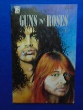 ~~ GUNS AND ROSES #1 ~ 1992 ~ CELEBRITY COMICS ~RARE! LAST ONE! ~~~