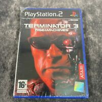 Terminator 3 Rise Of The Machines PS2 PlayStation 2 PAL Game Brand NEW Sealed