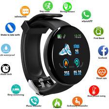 Умные часы фитнес спорт активность, трекер пульсометр для Android IOS