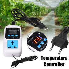 Electronic Thermostat Digital Breeding Temperature Controller Socket EU Plug