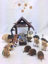 Australian Animals Christmas Nativity Scene Ornament 13 Pce Set Arkart New Style