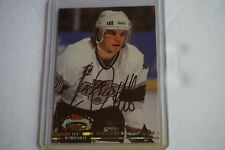 1992/93 Stadium Club Members Choice #247 Luc Robitaille Los Angeles Kings AUTO