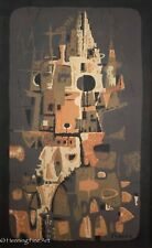"Woodstock School of Art Eduardo Chavez Serigraph ""Cathedral"", Signed & NICE"