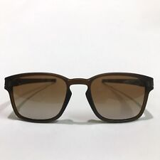 Oakley Sunglasses * Latch Squared 9353-09 Matte Rootbeer Dark Brown Gradient