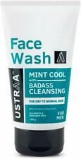 Ustraa Mint Cool Face Wash 100g Badass Cleansing For Dry Skin Free Shipping