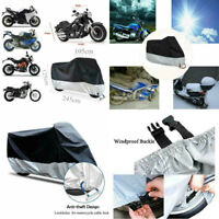 Waterproof Outdoor Motorcycle Motor Bike Scooter Protector UV Dust Rain Cover