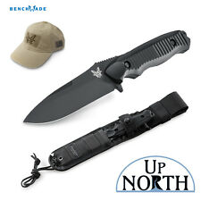 Benchmade 140BK Nimravus Fixed 154CM Black Blade Tactical Combat Knife FREE HAT
