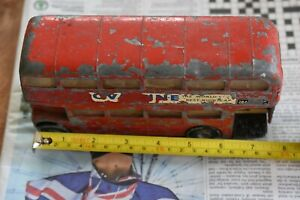 Triang  Spot-On LT Routemaster London Bus 1:42 scale. Poor condition See photos.