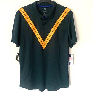 Nike Court Roger Federer RF Tennis Polo Code 939080-303 Midnight Spruce XL