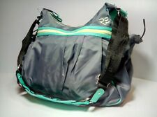 Rare Earth by Stone Mountain Active Hobo Shoulder Bag Gray and Aqua