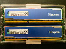 Kingston HyperX Blu. 8GB RAM DIMM (2x4GB) DDR3 1333 CL9 SDRAM KHX1333C9D3B1K2/8G