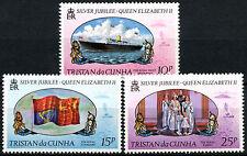 Tristan Da Cunha 1977 Silver Jubilee MNH Set #R368