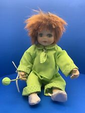 Vintage Sitting Doll(Red Hair Green Eyes)By Seymour Mann connoisseur collection