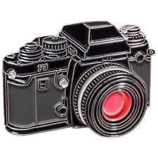 Enamel Metal Pin Badge for Nikon F3 35mm SLR camera enthusiasts. Premium Quality