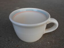 Pfaltzgraff AURA Coffee Cup   Pink and Blue Bands