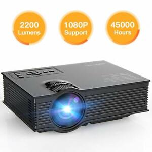 APEMAN Projector Mini Portable Projector Upgraded 2200 Lumens LED Full HD