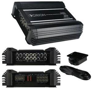 ORION XTR500.4 Xtr 4 Ch. Amplifier 90x4 RMS 4 ohms