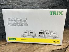 More details for trix ho/h0 - 21217 - 'henkel' train set - steam locomotive plus two tank wagons.