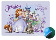 Sofia the first Personalised Place Mat- Wipe clean EVA Sponge Backed