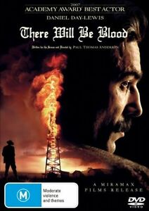 There Will Be Blood DVD (PAL, 2008) VGC, FREE POST
