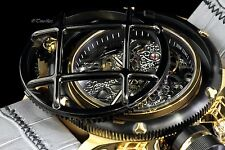 Invicta Russian Diver Nautilus Swiss 6497 Mechanical Leather Strap Watch