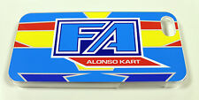 FA Alonso style plastic case to fit iPhone 5 - KARTING