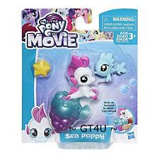 My Little Pony The Movie Sea Poppy Baby Seapony Fish Starfish Sticks White