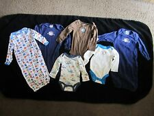 "Babies ""R"" Us baby clothes 3 Months Gerber gently used some never worn sleepers"