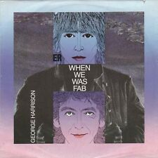 """GEORGE HARRISON - When We Was Fab (ps)  7"""" 45"""
