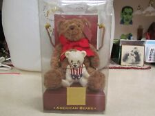 Lenox For the Holidays Teddy Bear 100th Anniversary American Bears ~ Mint in Box