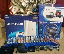 5tb PlayStation 4 Pro Glacier White PS4 Pro - Playstation VR - Thrustmaster 150