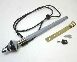 Manual pop up antenna with key Datsun Roadster 240Z 280Z Toyota Honda 12-J4129