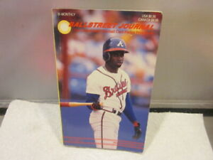 BALLSTREET JOURNAL VOL. 2 NO. 8 Deion Sanders with 10 Inserts Pocket Price Guide