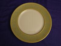 "Franciscan china CROWN RENAISSANCE Green, Set of 4 Salad Plates, 8"" EXCELLENT"