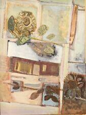 PROFESSOR BRUNO MERBITZ 1918-1997 BERLIN - INTERIEUR MIT BLUMEN #1 135 x 100 cm