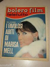BOLERO=1966/1021=MARISA MELL=DINO=PINO DONAGGIO=VALENTINA FORTUNATO FANTONI S.=