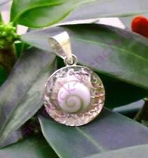 Colgante Shiva Eye concha shivas ojo Sterling plata 925 disco clavaran
