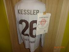 FC St.Pauli DoYou Football Matchworn Trikot 10/11 + Nr.30 Daube + Signiert Gr.M