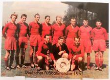 1.FC Kaiserslautern + Deutscher Fußball Meister 1953 + Fan Big Card Edition F15