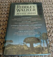 Excellent Condition Riddley Walker: A Novel by Russell Hoban 1980