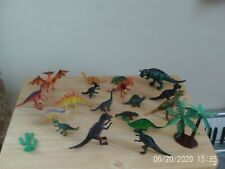 Collection of dinosaurs small plastic toys - see pictures age 4-11 years