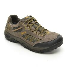 Men Teva Verdon WP Lace Up Hiking Sneakers 8.5 / 41.5 Brown Comfort Trail Shoes