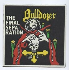 Bulldozer synthetic 3D patch early 80's RARE
