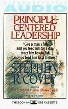 BRAND NEW   Principle-Centered Leadership CASSETTE AUDIOBOOK Stephen R. Covey