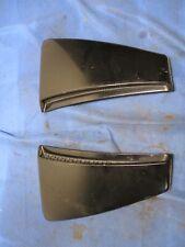 2003 04 Ford Mustang Svt Cobra Black Ebony Side Scoop Pair 066