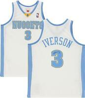 Autographed Allen Iverson Nuggets Jersey Fanatics Authentic COA Item#11034582